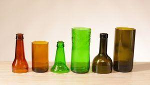 usos del vidrio reciclado