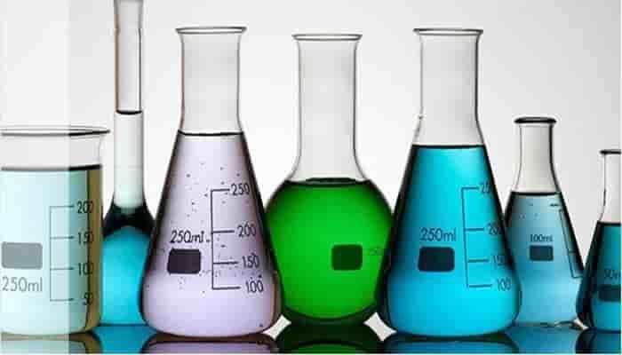 vidrio material de laboratorio