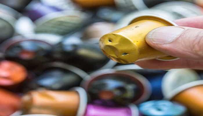 ideas para reciclar capsulas de cafe