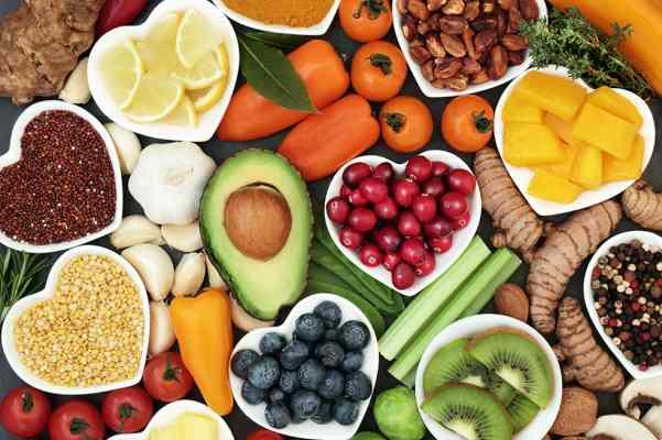 clases de alimentos organicos