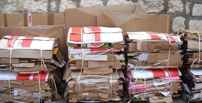 reciclaje de carton y papel