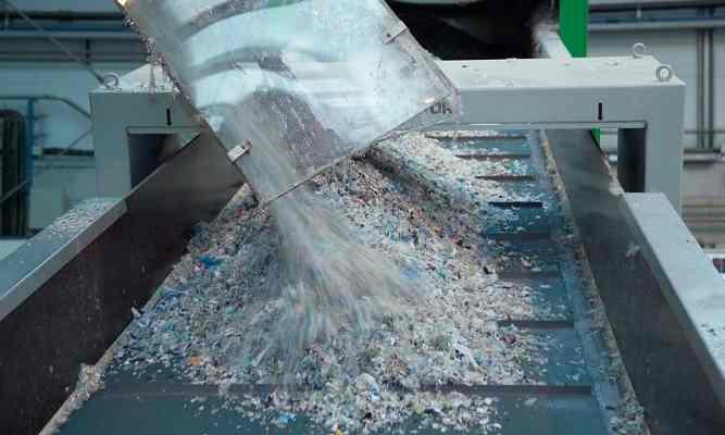 reciclado mecanico